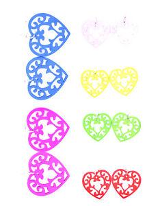 En-bois-decoupe-forme-coeur-dangle-earrings-multiple-couleurs-a-choisir