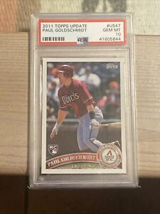 2011-Topps-Update-Paul-Goldschmidt-ROOKIE-RC-US47-PSA-10-GEM-MINT