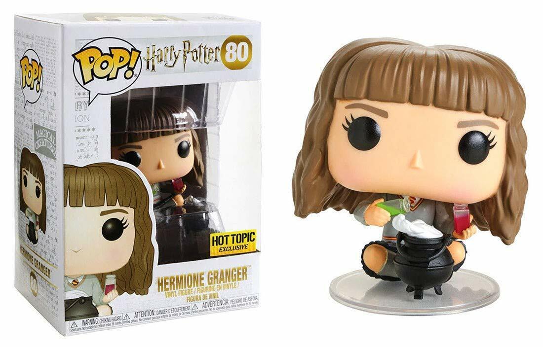 Funko Pop Harry Potter 80 Harry Potter 36155 Hermione Granger Hot Topic Exclu...