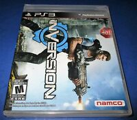 Inversion Sony Playstation 3 - Ps3 - Factory Sealed Free Shipping