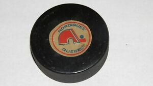 1979-83-Quebec-Nordiques-Official-Viceroy-Inglasco-NHL-Game-Puck-Not-Used-WHA