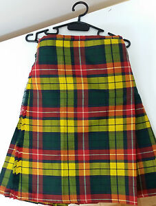 Buchanan-8YD-Kilt-Only-Ex-Hire-99-A1-Condition-Large-Stock-BUT-HURRY