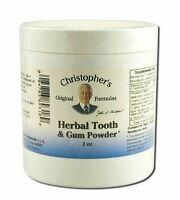 Christopher's Original Formulas Herbal Tooth & Gum Powder - 2 Oz (pack 1)