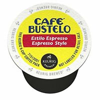 Keurig Cafe Bustelo Coffee Espresso K-cups Cuban (18 Count), New, Free Shipping on sale