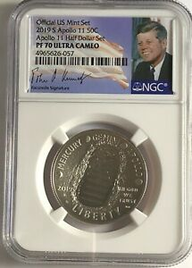 2019-S-NGC-PF70-PROOF-CLAD-APOLLO-11-FROM-HALF-DOLLAR-SET-50C-ULTRA-CAMEO-SIGN