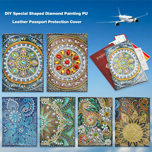 DIY-Special-Shaped-Diamond-Painting-Leather-Passport-Protection-Cover-Bag-Gift
