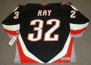 5a0796ec9 ROB RAY Buffalo Sabres 1999 CCM Throwback Away NHL Hockey Jersey