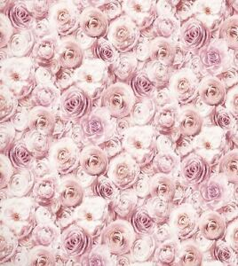 Details About Arthouse Wild Rose Floral Wallpaper Blush Pink Petals Flowers 3d Feature Wall