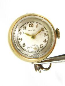 Antique Gold Filled Fairfax Watch Pendant 10.1g