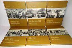 6-BOOKS-Praeger-Campaign-Hardback-Eds-D-Day-All-Beach-Landings-Operation-Cobra