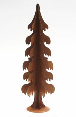 Deko Baum Größe L Weihnachtsbaum zum Aufstellen Rostbraun