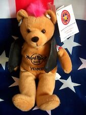 HRC Hard Rock Cafe Venice Venedig Punk Bear Mohawk 2009 Pink Hair Herrington