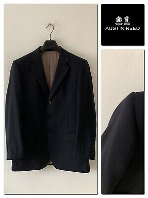Austin Reed Westminster Men S 100 Wool Suit Jacket Size 40 Regular Ebay