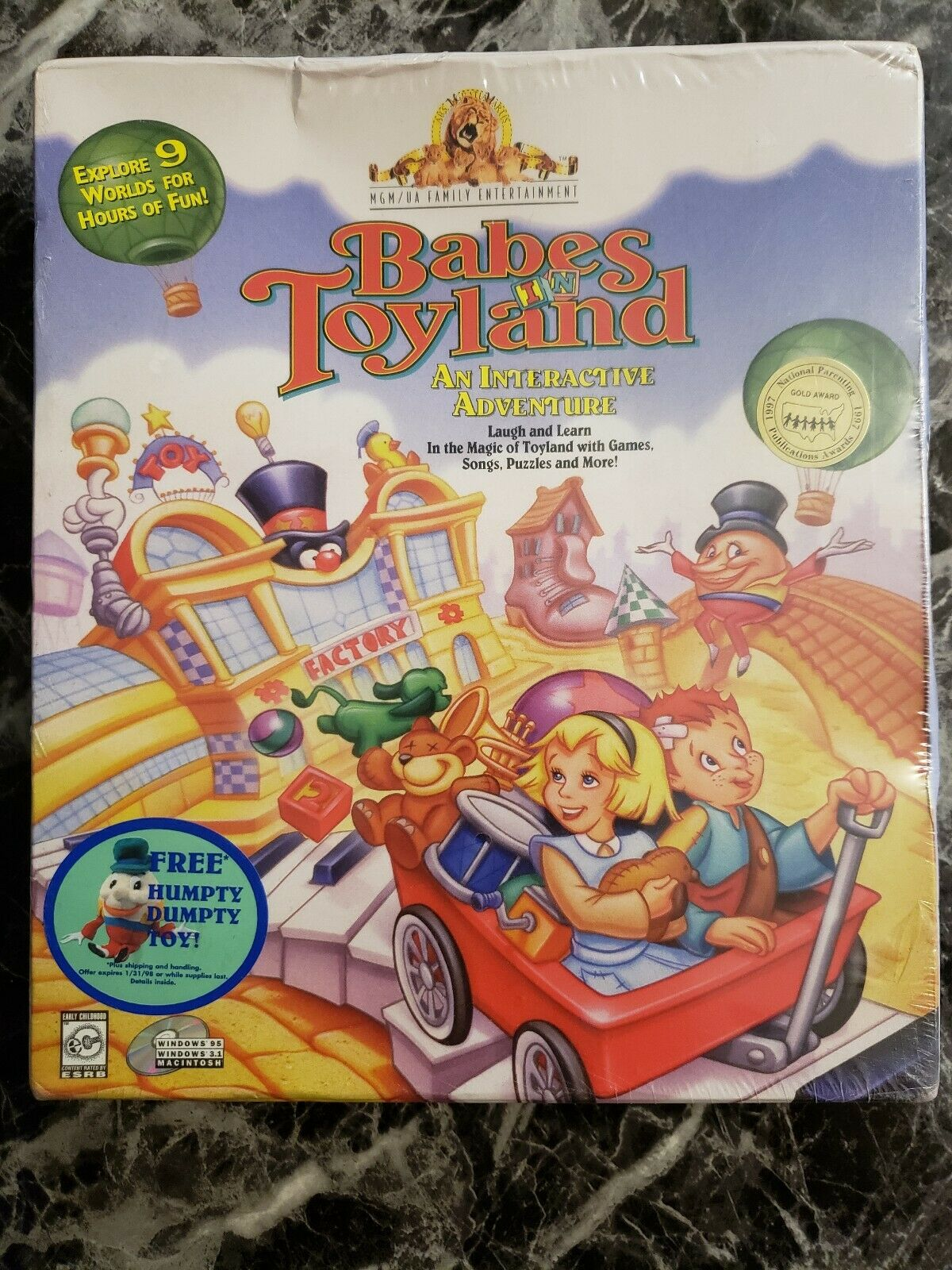 Free Babes Games babes in toyland: an interactive adventure (windows/mac, 1997)