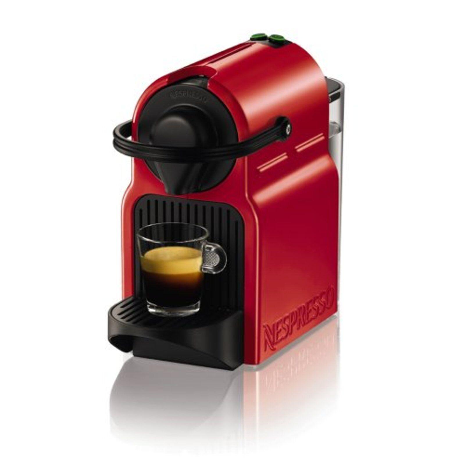Nespresso cafetière inisshia Ruby Rouge C40RE F S avec No de suivi le Japon Nouveau (100 V)