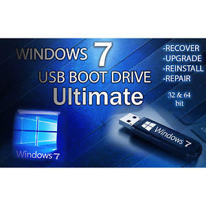 how to fix windows 7 ultimate 64 bit