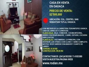 Casa en Venta en San Sebastian Tutla