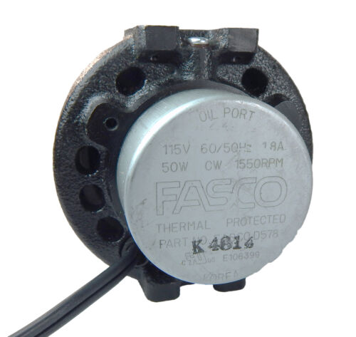 50 Watt 1550 RPM CWLE 115V Unit Bearing Refrigeration Fasco Motor # UB578