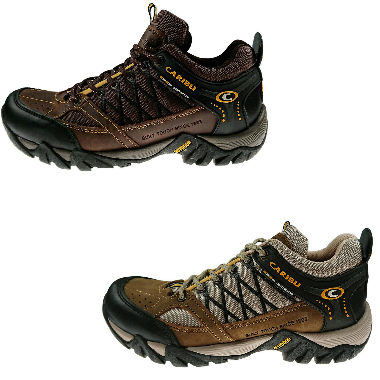 Men's Caribu Hiking Shoes Style 722E_ Made in Mexico_NWB_