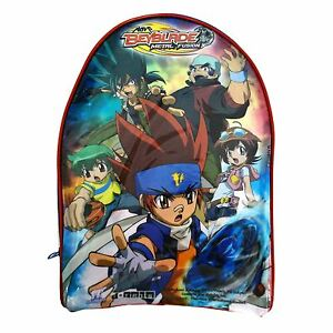 Official Beyblade Metal Fusion Boys Transparent Swim Beach Travel Bag Backpack