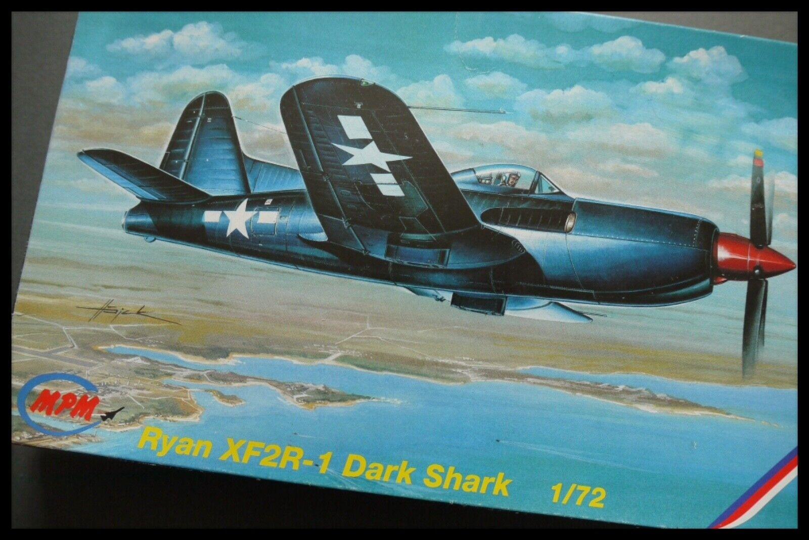 MPM Ryan XF2R-1 Dark Shark 1 72 Model Kit