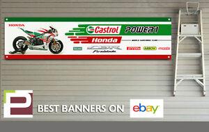Honda-CBR-Fireblade-Banner-for-Workshop-Garage-1000RR-600-Castrol-Pirelli