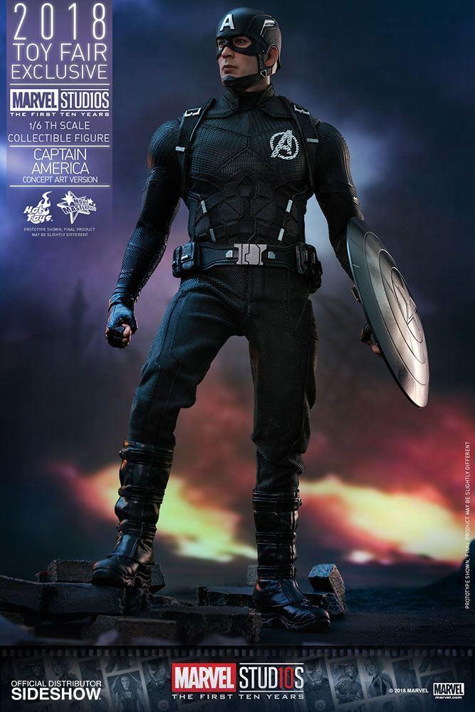 Captain America Concept Art (Spielzeug Fair Exclusive) Exclusive) Exclusive) 1 6 Action-Figur 12″ 2d0462