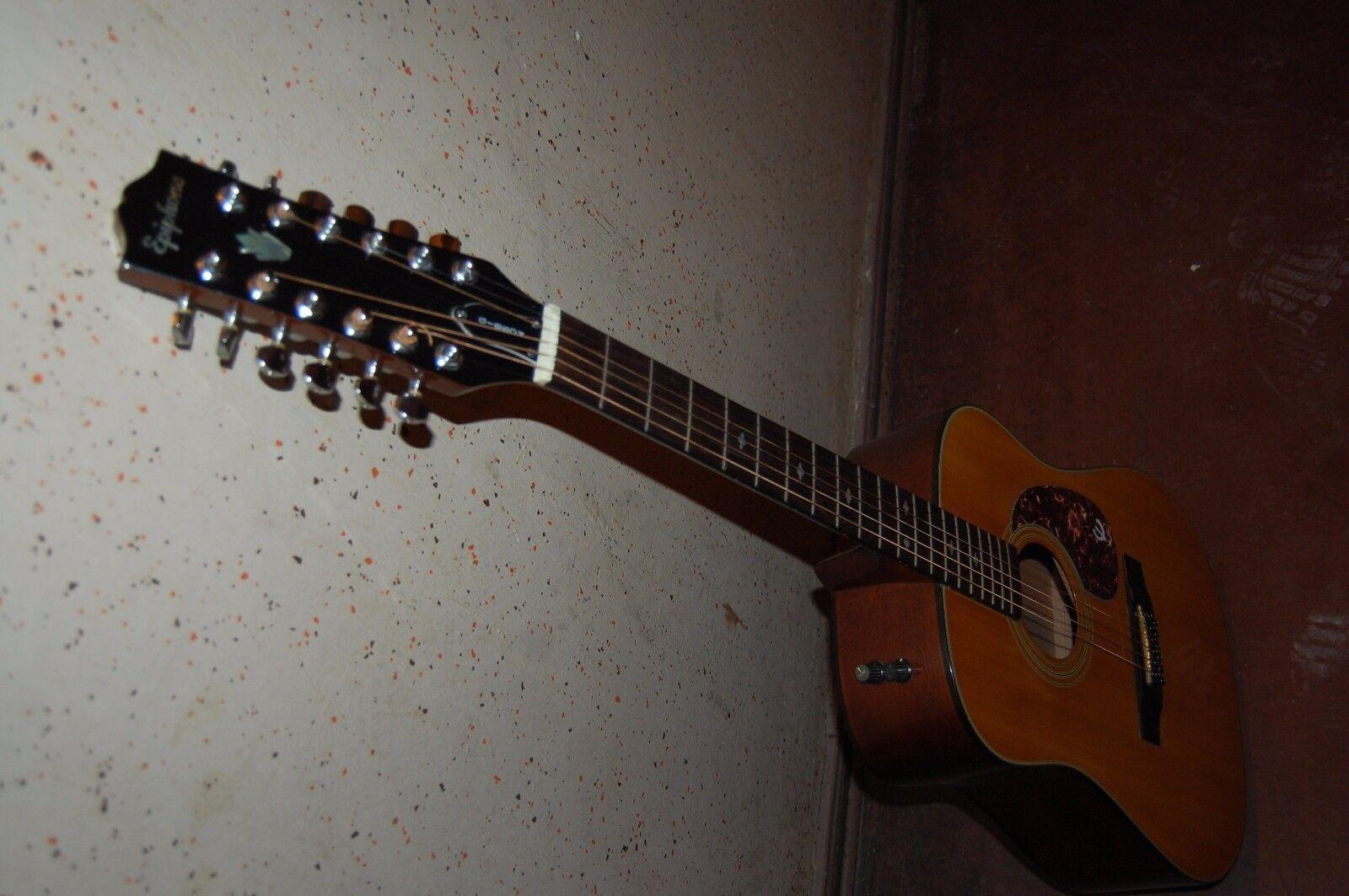 Epiphone Gibson PR350-12-Eelectric acoustic Korea