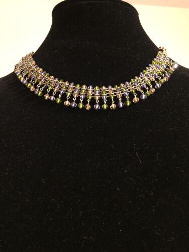 Fabulous Beaded Fringe Necklace
