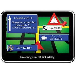 Das Bild Wird Geladen Einladungskarten Navigation Geburtstag Einladung  10 20 30 40