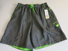 fbecb04ca1 Quiksilver Big Boys M Board Swim Trunks Shorts Neon Lime Green Mesh ...