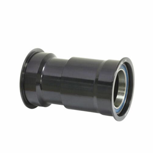 3 Roulements Noir Bonnets Wheels Manufacturing PressFit 30 Pédalier avec Abec
