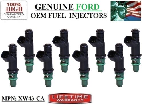 Fuel Injectors 8-pack for Yrs 2000-2002 Jaguar S-Type 4.0L V8 OEM Ford #:XW43-CA