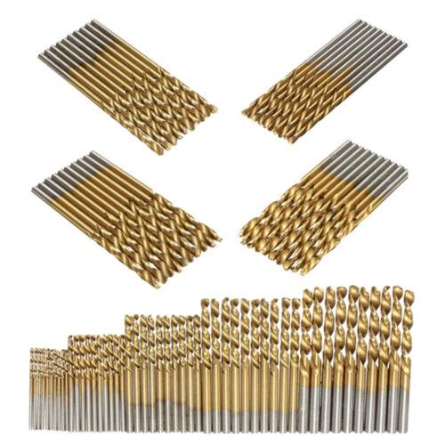 2.5 50Pcs 1 2.0 3mm ensemble de HSS forets en titane enduit B4M7 MI 1.5
