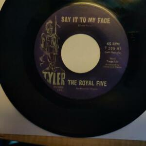 "RARE NORTHERN / SWEET SOUL PA 1ST PRESS BY THE ""ROYAL FIVE"" ON TYLER LABEL# 200"
