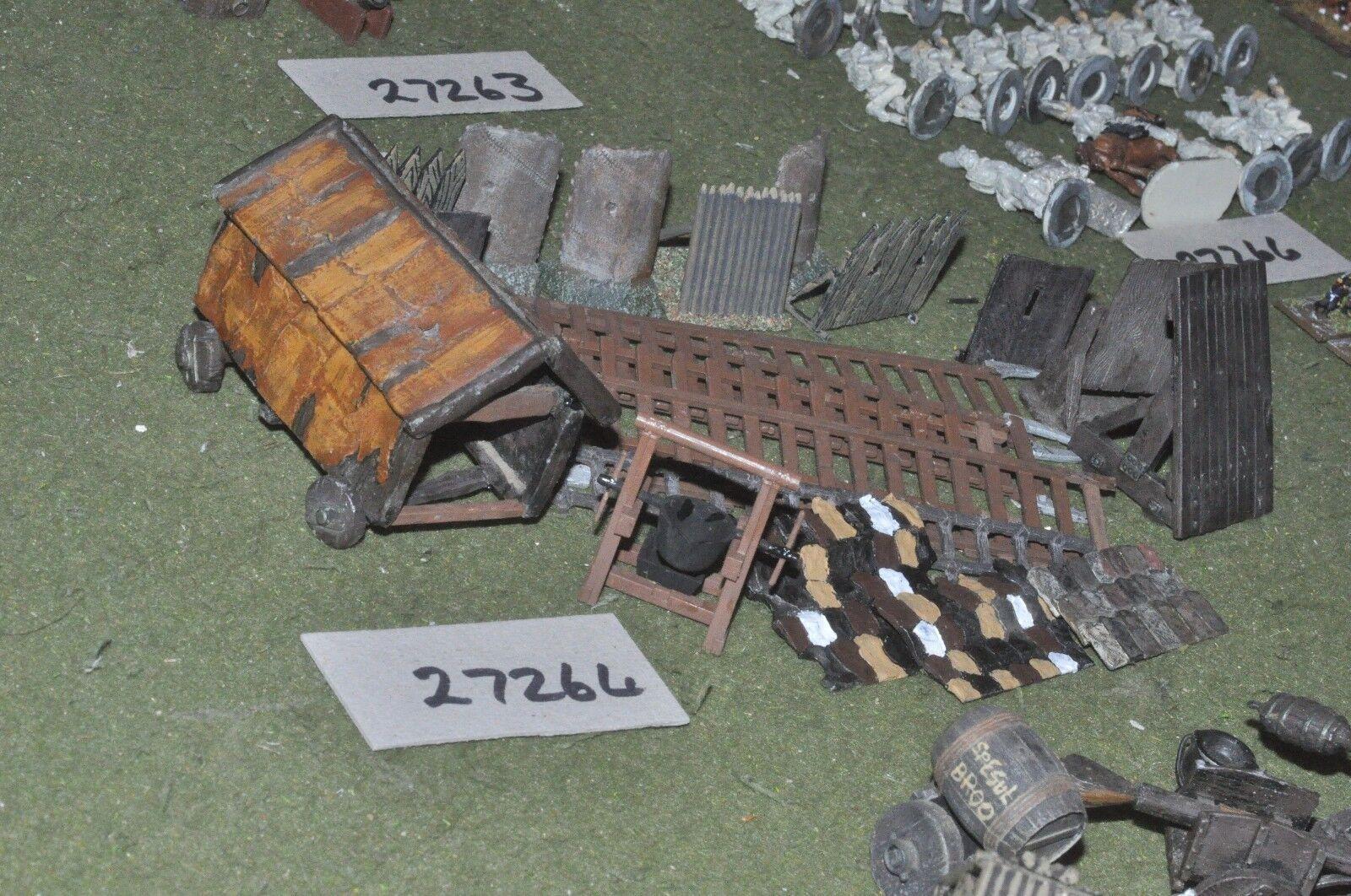 25mm medieval   english - siege equipment - baggage (27264)