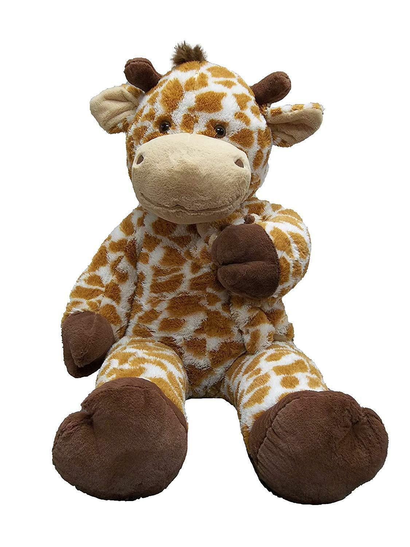 Jumbo Soft Plush Giraffe with Baby, 51
