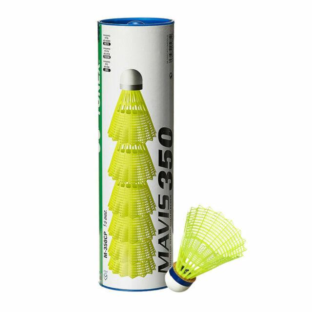 Yonex Mens Mavis 350 Can of 6 Badminton Ball