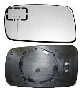 À gauche passager chauffé aile miroir de verre pour bmw serie 3 E46 cabriolet 98-05