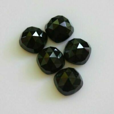 Lovely Lot Natural White Topaz 15x15 mm Round Rose Cut Loose Gemstone Details about  /SALE!