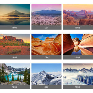 Image is loading Giant-Grand-Canyon-Everest-Mountain-Lakeside-Scenery-Wall-