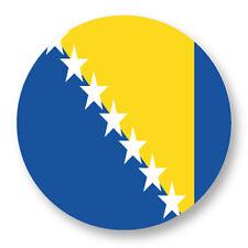 "Pin Button Badge Ø25mm 1"" Drapeau Flag Bosnia Herzegowina Bosnie Herzegovine BIH"