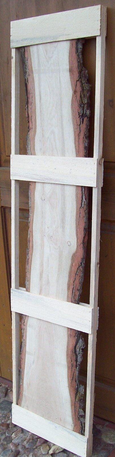 790 Waschtischplatte Eiche Tischplatte Holz Holz Holz Massiv 57mm x 29-43cm x 107cm | eine breite Palette von Produkten  | Verrückte Preis  | Angenehmes Gefühl  | Schön  1deef6