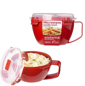 940 ml-Rouge Sistema Micro-ondes Bol nouilles