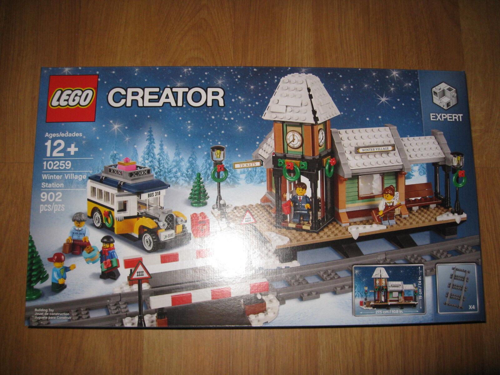 Lego Creator 10259 estación Aldea De Invierno 2017 (10259)