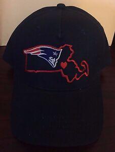0f79a3fe8cc29 Image is loading NWOT-New-England-Patriots-Massachusetts-Logo-Hat-Cap-
