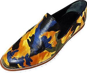 Bleu À Main Camouflage Jaune Pantoufle Armée Chelsy Designer Italien La Vert q1wxOSz7H