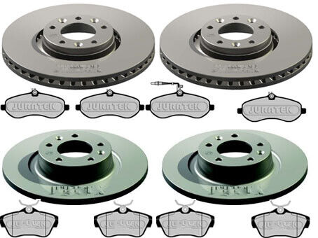 CITROEN DISPATCH 1.6 2.0 HDI FRONT AND REAR BRAKE PADS /& DISCS 290mm 304mm