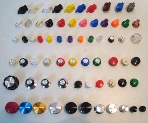 Pointer Knobs pour instruments Effects Pédales Amplificateurs guitares projets Boutons