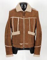 $7890 - Tom Ford Shearling Lamb Suede Jacket Coat - 48 Small / Medium